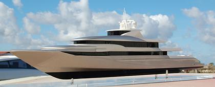 Yacht de 78m