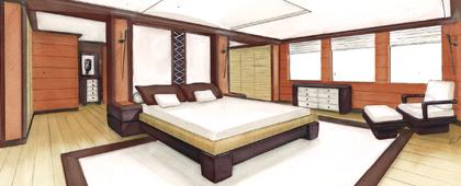 cabine du propriétaire