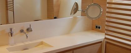salle de bain propriétaire